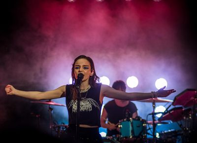 Chvrches electrify the night.
