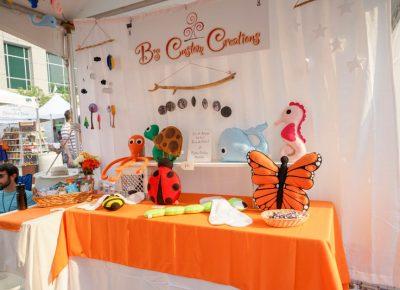 B's Custom Creations handmade felt merchandise.