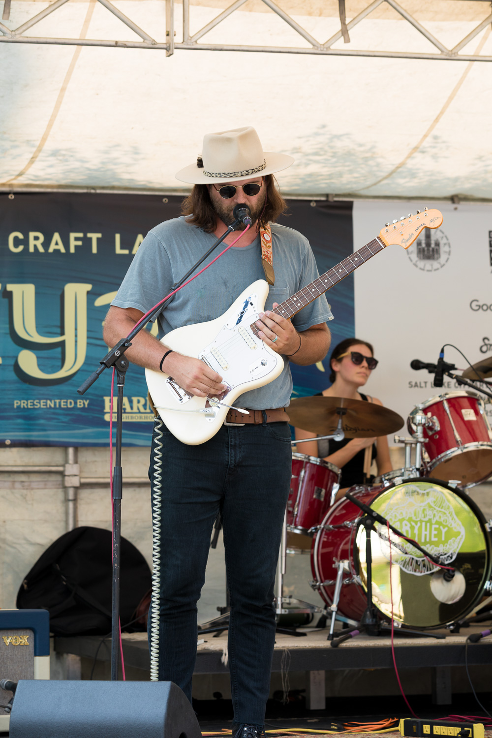Local musicians are featured at all the stages, including the KRCL spot in the south end of Craft Lake City. Photo: Lmsorenson.net