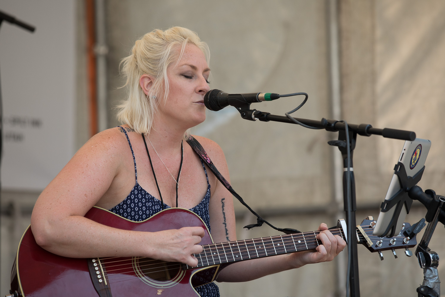Musicians always deliver great performances at the 10th Annual Craft Lake City DIY Festival. Photo: Lmsorenson.net