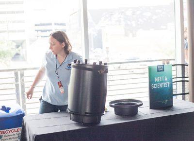 Meet a scientist in the Google Fiber STEM Building.