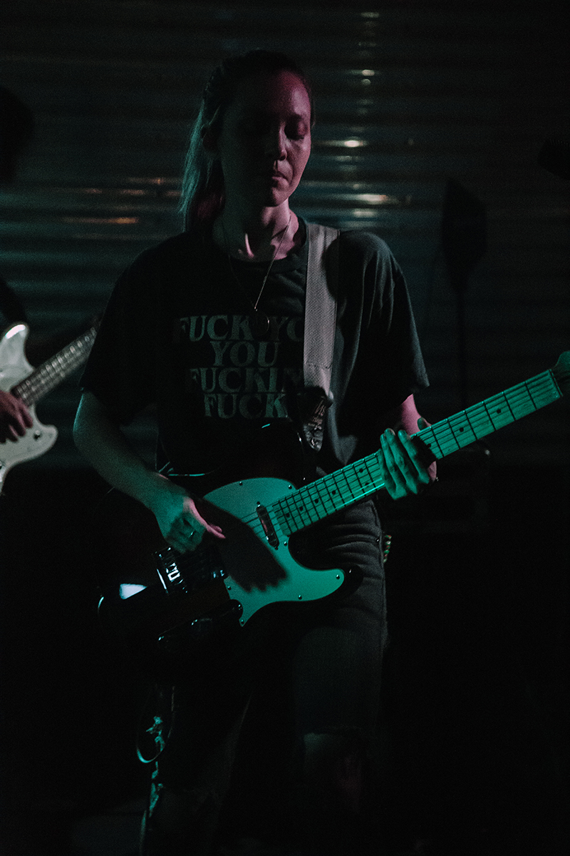 Dalager with the guitar solo.