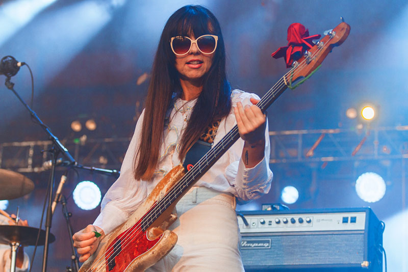 Paz Lenchantin's unique elements shine as she plays.