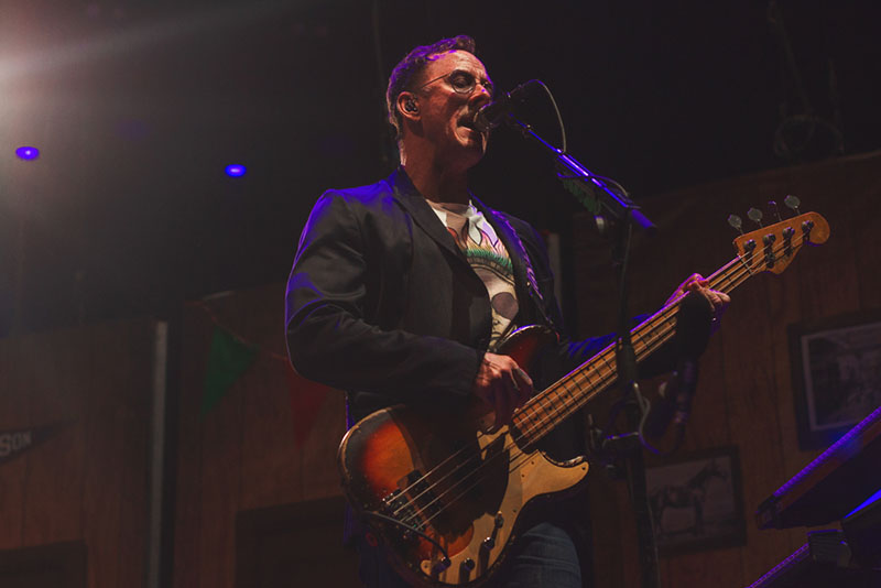 Scott Shriner gives us a killer bass performance as they begin to transition into their next song of the night.