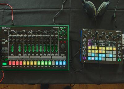 Some new retro-beat machines await their beat masters.