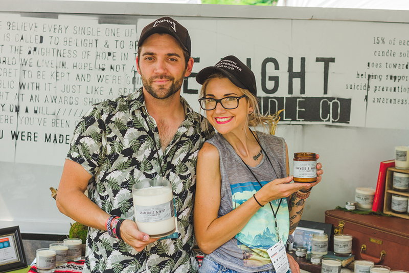 Matt and Taylor Lamb are the two badasses who run Be Light Candle Co. which is dedicated to suicide prevention and awareness by bringing light into a dark time.