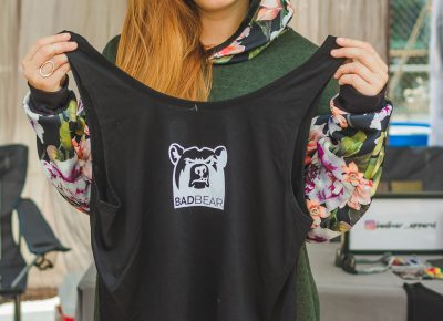 Alison Reighard of BADBEAR clothing is desperate for the winter to finally arrive.