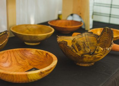 An Alan Peck–handcrafted wooden bowl is unlike any other.