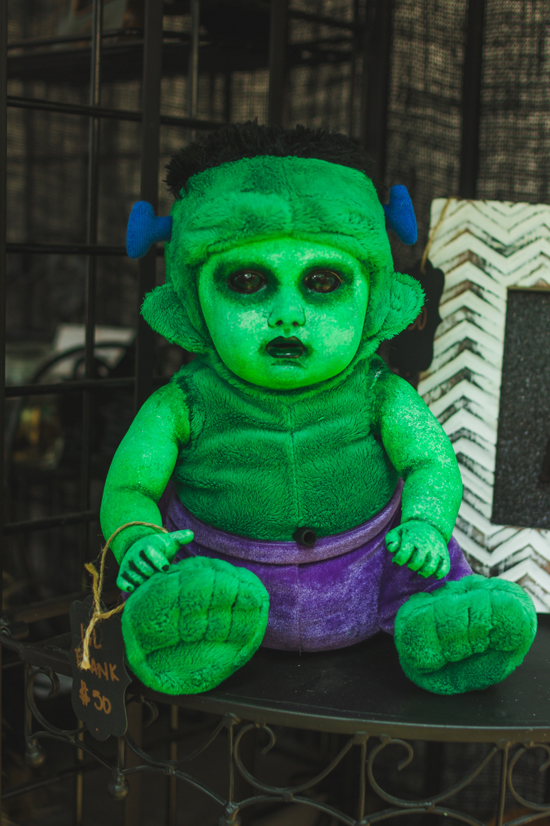 Baby Franken-Hulk is displeased with you.