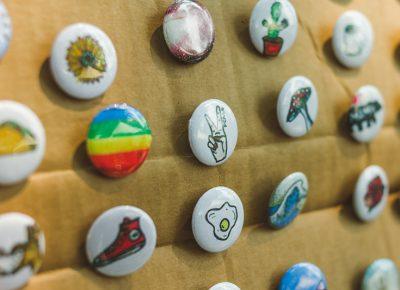 Button art courtesy of Mia Kinzinger.