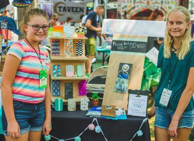 Ella Oostema & Seline Saderholm are the next generation of Craft Lake City artisans.