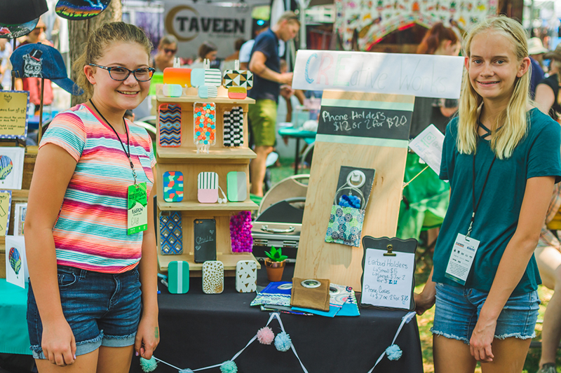 Ella Oostema & Seline Saderholm are the next generation of Craft Lake City artisans.