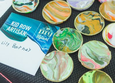 Hand painted bowls courtesy of Lily Barney.