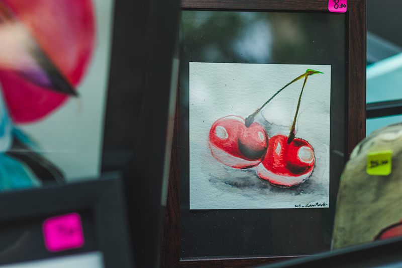 Cherry art by Lukas.