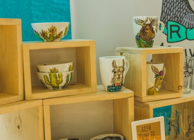 Animals of the wild find their way onto your kitchen mugs.