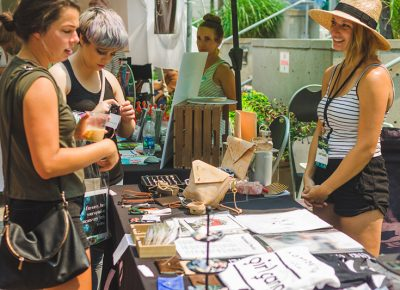 The steaming-hot weather and summer inversion did not stop anyone from enjoying the Craft Lake City DIY Festival.