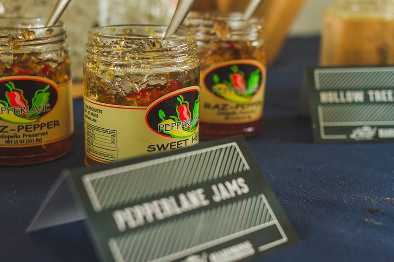 Pepperlane Jams makes their presence known in the VIP area