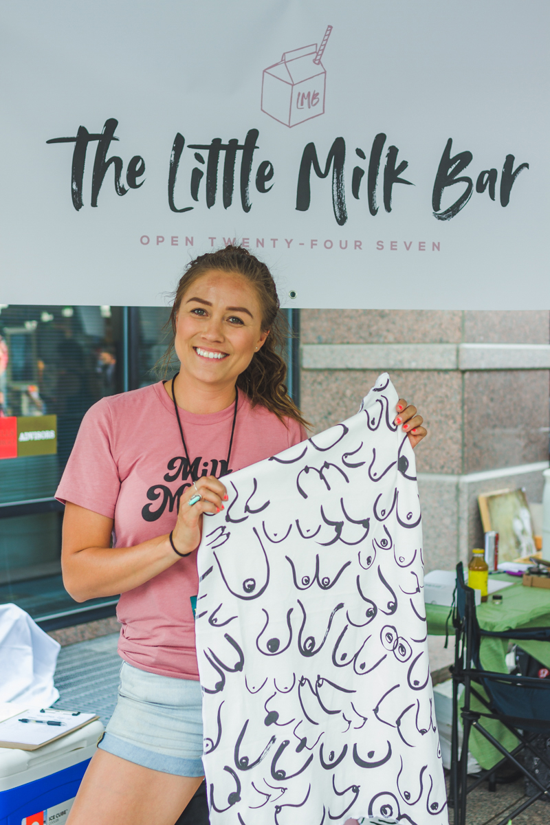 The Little Milk Bar shows their love to all the breastfeeding moms out there!