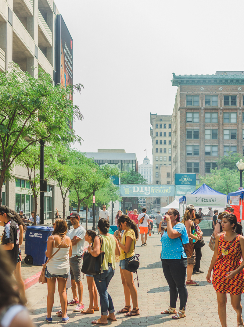 Tucked away in the heart of Downtown is the DIY, Fest with a little something for everyone.