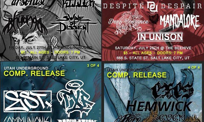 Utah Underground Compilation shows