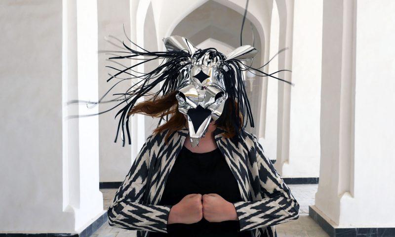 Marisa Morán Jahn (Studio REV-), The Source, 2018, photograph, 40 x 30 in., featuring Aisha.
