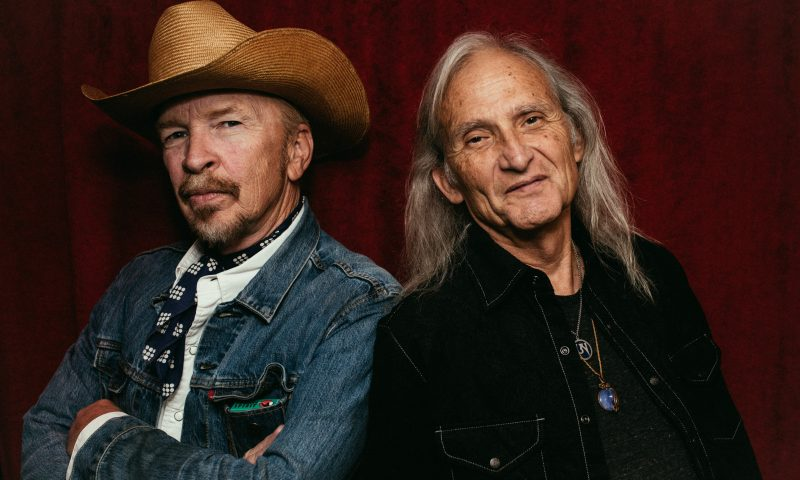 (L-R) Dave Alvin and Jimmie Dale Gilmore. Photo: Daniel Jackson