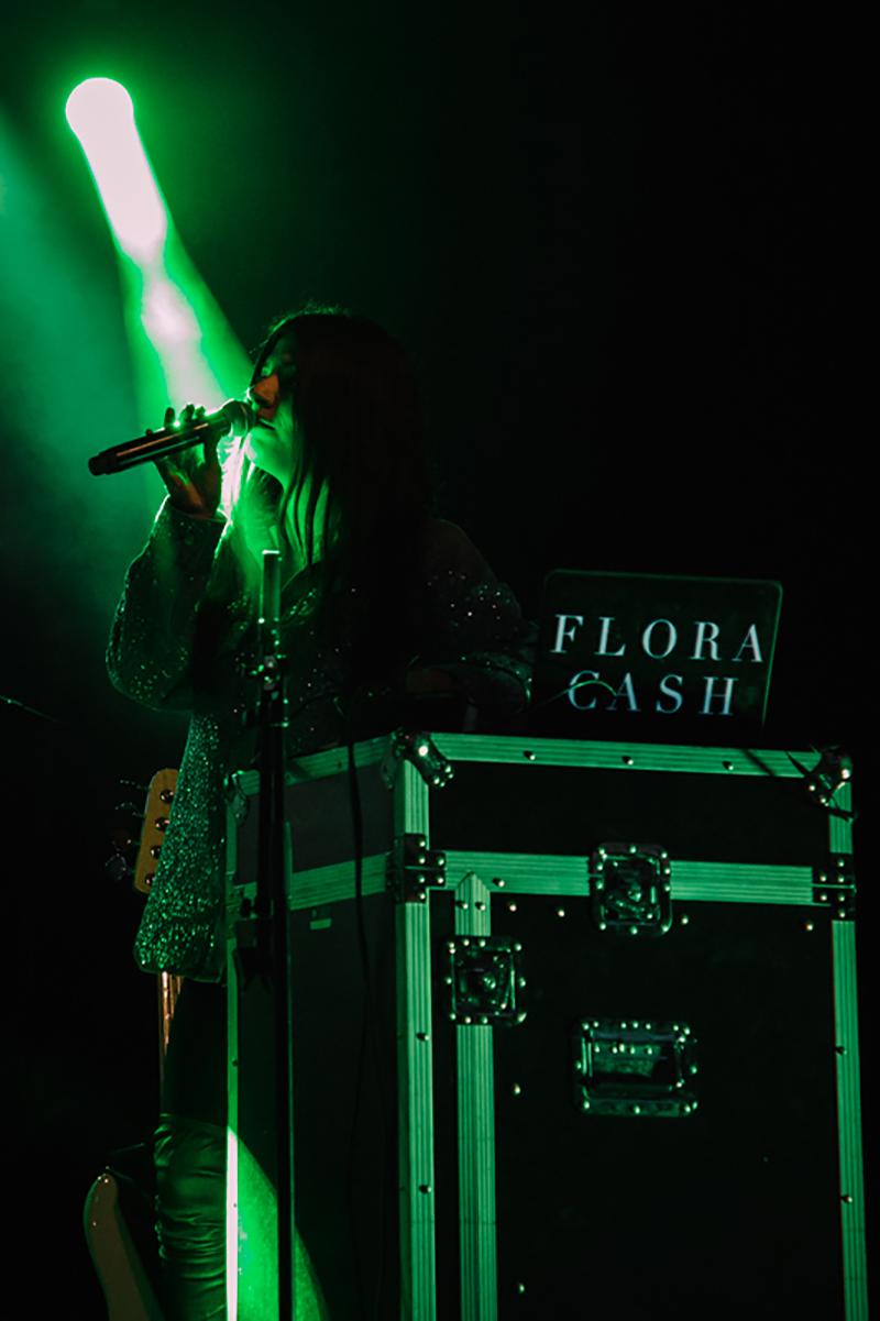 Swedish vocalist Shpresa Lleshaj.