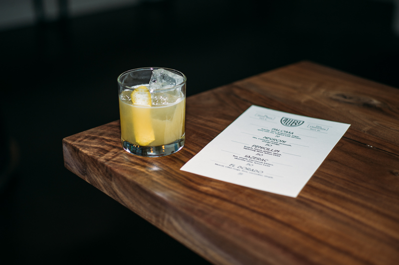 A fresh take on a classic cocktail, the Penicillin, which features scotch, honey and ginger. Photo: @clancycoop