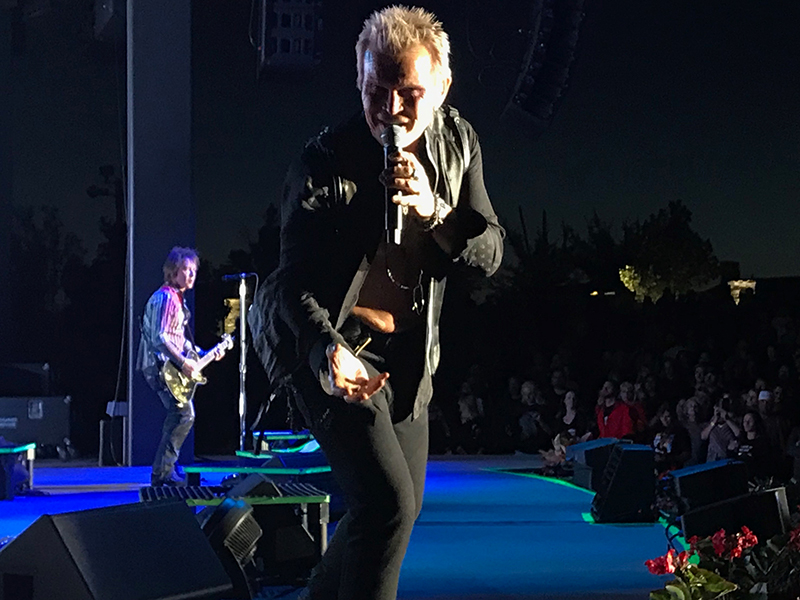 Billy Idol @ Red Butte Garden 09.17 w/ White Reaper
