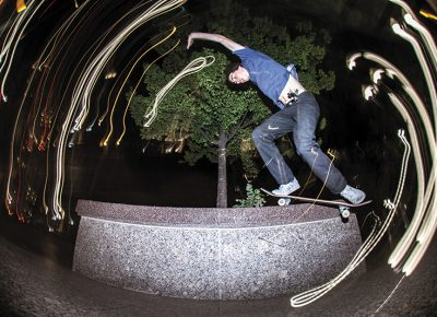 Tyson Bowerbank – Bennett Grind – SLC, Utah. Photo: CJ Anderson