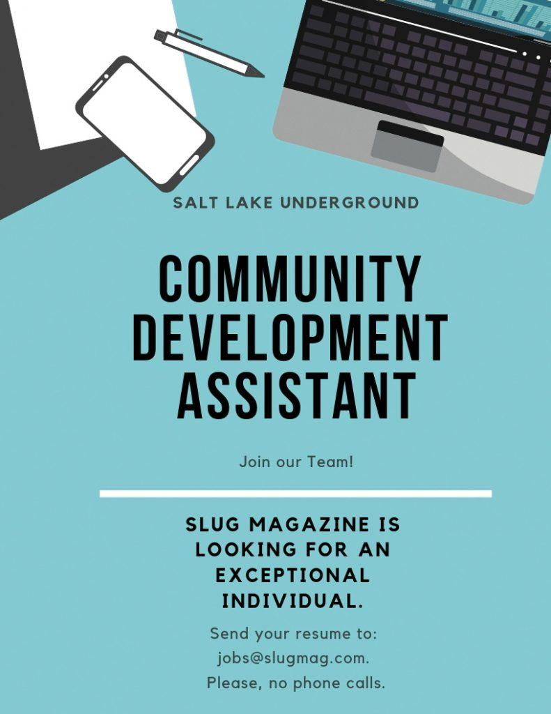 Now Hiring: Community Development Assistant