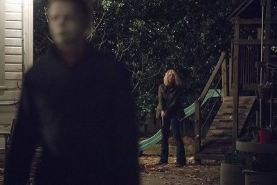 This time around, the boogeyman has been incarcerated for 40 years, but on that special night of Oct. 31, he makes his escape in search of the one who got away along with her daughter and granddaughter. Photo: Ryan Green