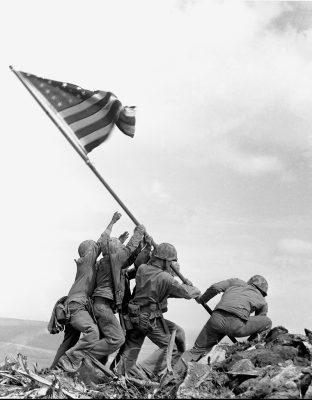 Photo: 1945, Joe Rosenthal/The Associated Press
