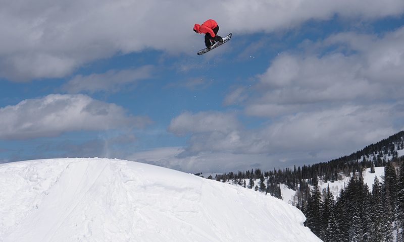 Sage Kotsenburg – Mid-Frontside 7 – Brighton Resort Backcountry, Utah. Photo: Jack Dawe