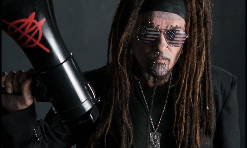 Ministry's Al Jourgensen - 2018 Photo: Phil Pharmet