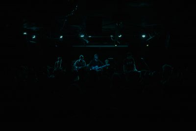 Wild Nothing performing for a sold out crowd.