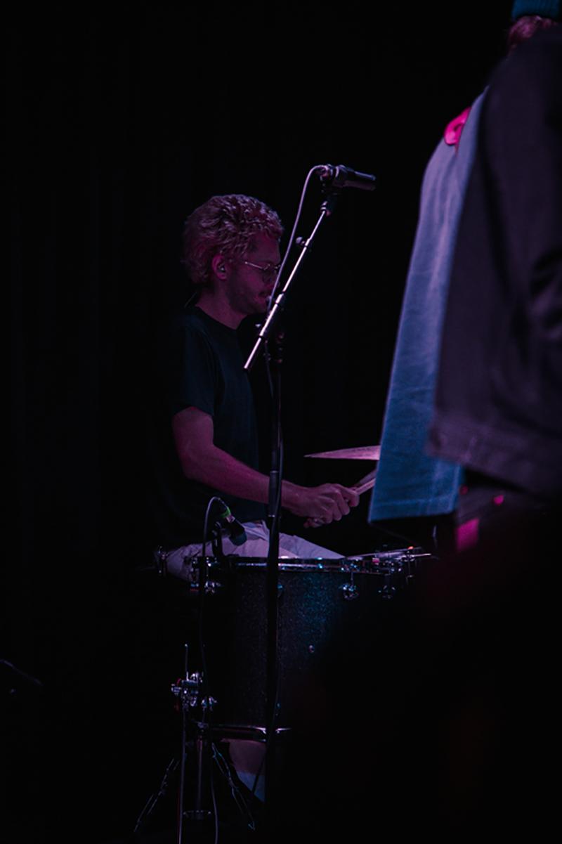 Wild Nothing drummer Elroy Finn.