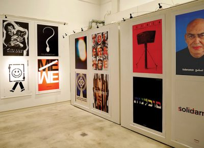 The Tolerance show in Finland was hosted at the Caisa Gallery in Helsinki. Photo courtesy of Mirko Ilić