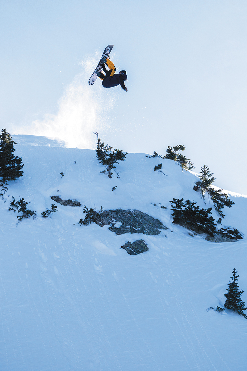 Spencer Shubert – Frontside Rodeo 5 – Brighton Resort, Utah. Photo: Jack Dawe