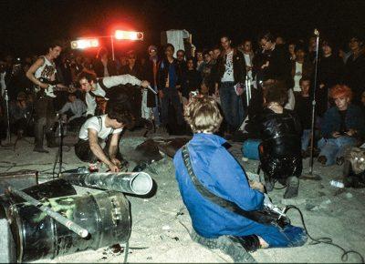 Music seekers arrive to Mojave Auszug, California. Photo: Fredrik Nilsen