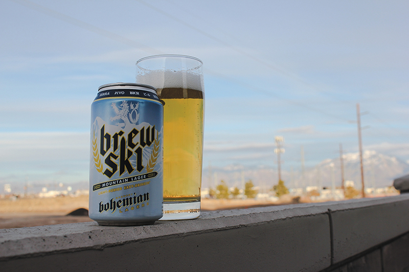 Beer of the Month: BrewSki Mountain Lager