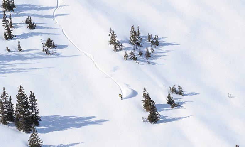 Randy Vannurden – Big Cottonwood Canyon, Utah. Photo: Jack Dawe