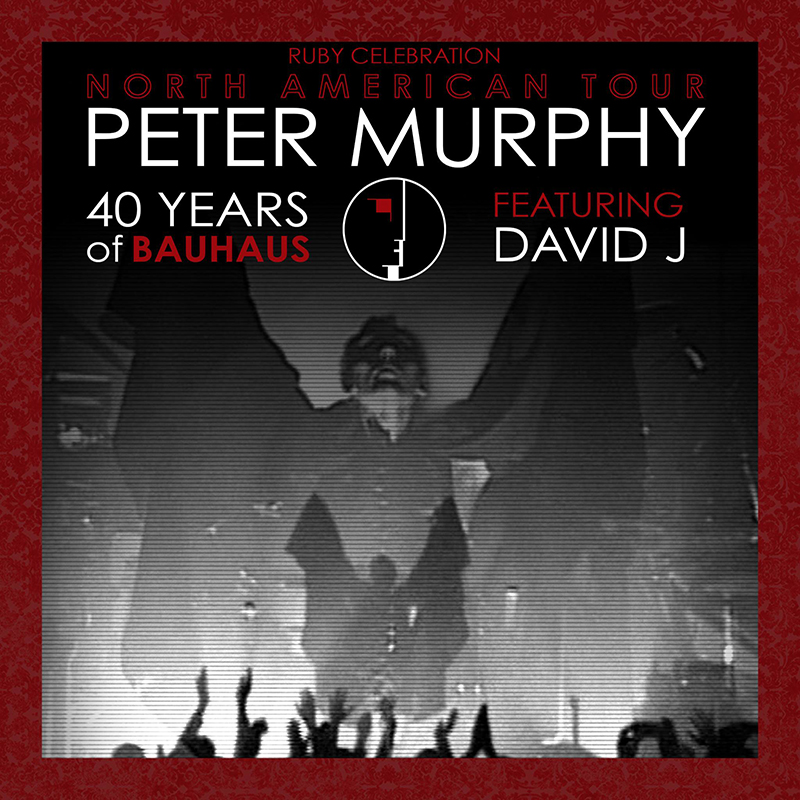 Peter Murphy featuring David J @ The Depot 01.22