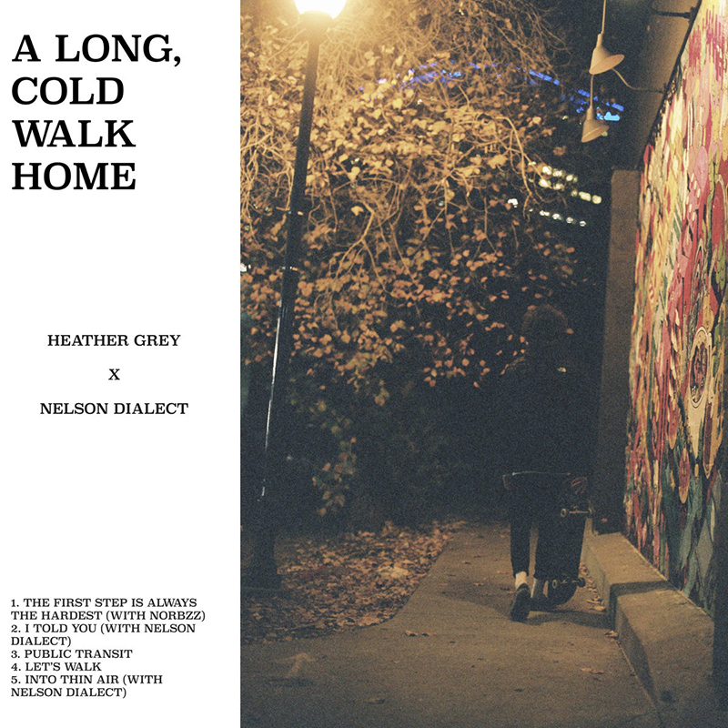Heather Grey | A Long, Cold Walk Home | Self-Released