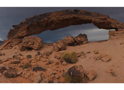 Using the history, geology and visual appeal of the Southern Utah arches, Wischer has design a multi-media exhibit to heighten the magic the arches are capable of creating. Photos courtesy of Wendy Wischer