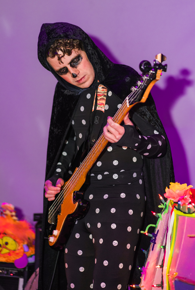 Nothing sweeter than a Cool Banana bass riff delivered by a wizard in black.