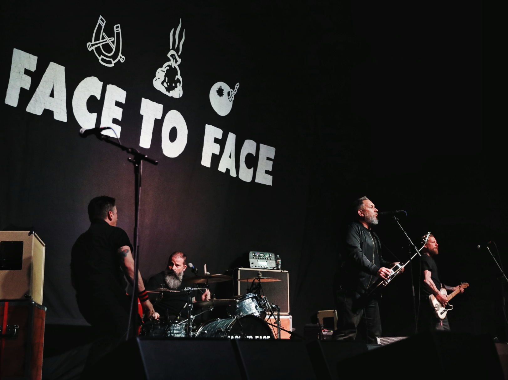 Face to Face playing at The Complex in Salt Lake City. Photo: @Lmsorenson