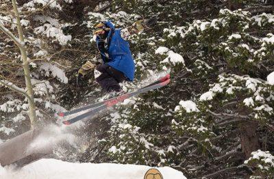 Bagesd Baker during men's open ski.