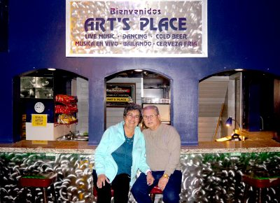 (L–R) Art's Place co-owners Yolanda and Art Sanchez offer a hidden gem of a dance club in SLC's Westside, and welcome all who are looking for a fun night of dancing.