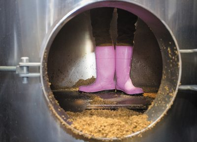 Pink Boots Society promotes the brewing of beer by women in the craft beer industry. Photo: Bryan Butterfield
